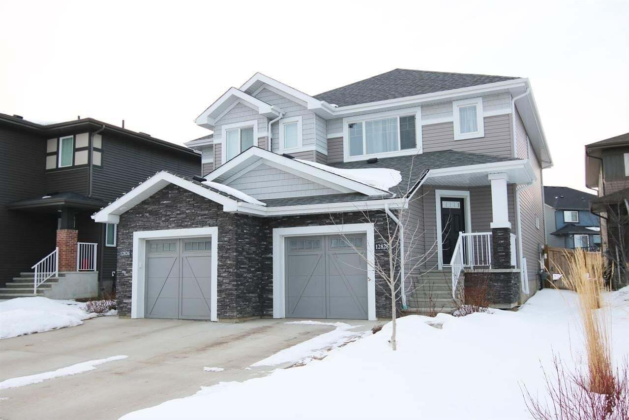 Townhouse for sale at 12828 205 St NW Edmonton Alberta - MLS: E4191992