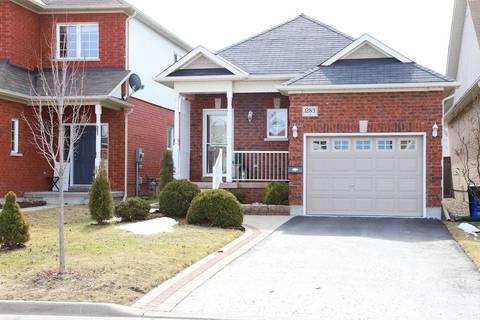 House for sale at 1283 Macinally Ct Oshawa Ontario - MLS: E4728388