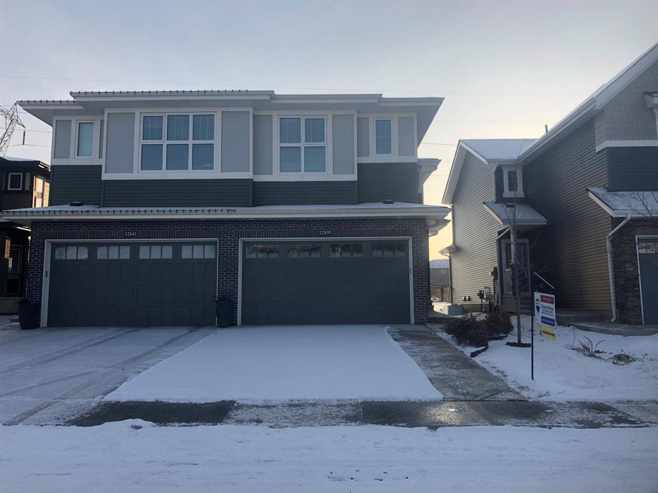 Townhouse for sale at 12839 205 St Nw Edmonton Alberta - MLS: E4178692