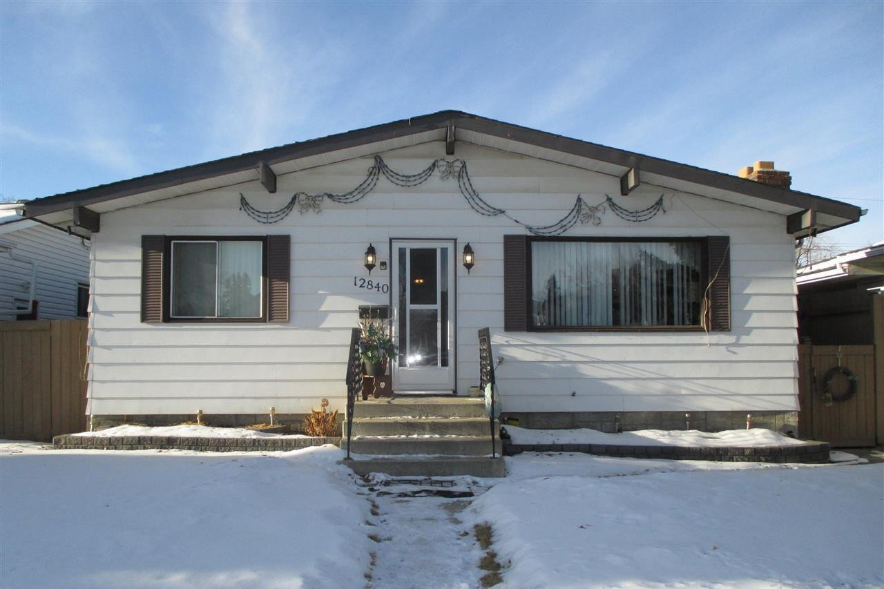 House for sale at 12840 132 St NW Edmonton Alberta - MLS: E4221263