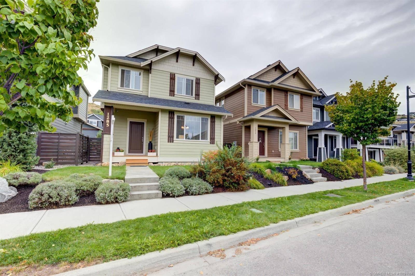 House for sale at 1285 Bergamot Ave Kelowna British Columbia - MLS: 10191664