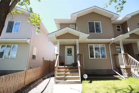 Townhouse for sale at 12850 121 St Nw Edmonton Alberta - MLS: E4157943