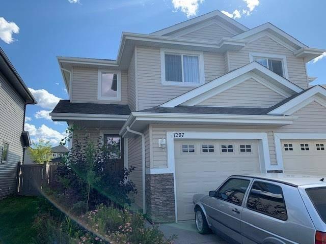 Townhouse for sale at 1287 Cunningham Dr Sw Edmonton Alberta - MLS: E4172496