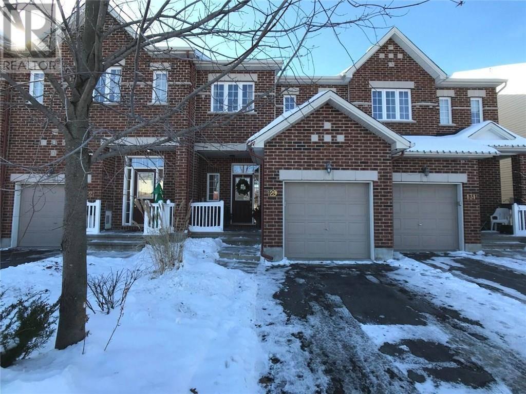 Townhouse for sale at 129 Bridgestone Dr Kanata Ontario - MLS: 1175813
