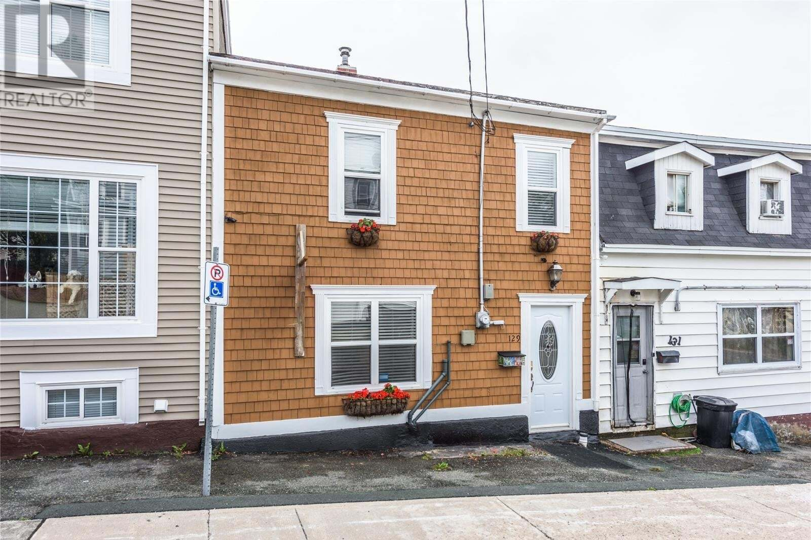 House for sale at 129 Cabot St St. John's Newfoundland - MLS: 1218332