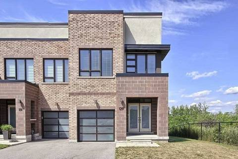 Townhouse for sale at 129 Dariole Dr Richmond Hill Ontario - MLS: N4546088