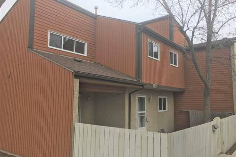 Townhouse for sale at 129 Kaskitayo Ct Nw Edmonton Alberta - MLS: E4152892