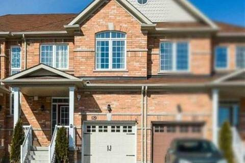 Townhouse for sale at 129 Matthewson Ave Bradford West Gwillimbury Ontario - MLS: N4499270