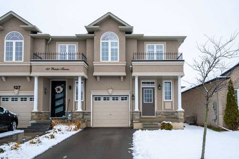 Townhouse for sale at 129 Painter Terr Hamilton Ontario - MLS: X4730571
