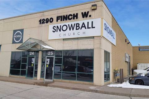 Commercial property for sale at 1290 Finch Ave Toronto Ontario - MLS: W4695329