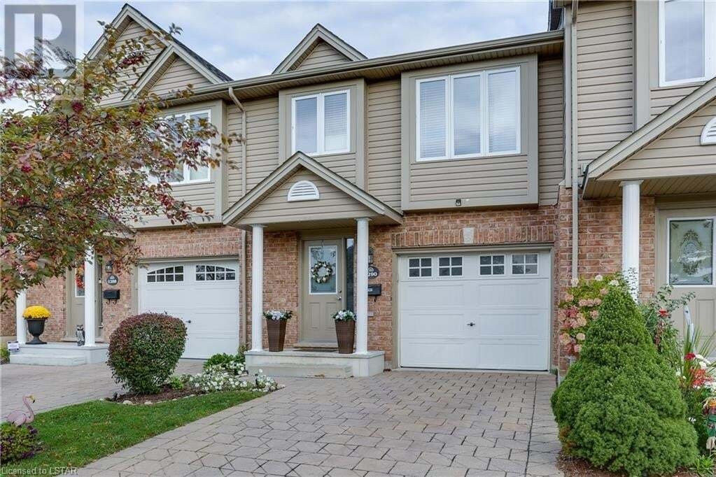 Townhouse for sale at 1290 Savannah Dr London Ontario - MLS: 40031803