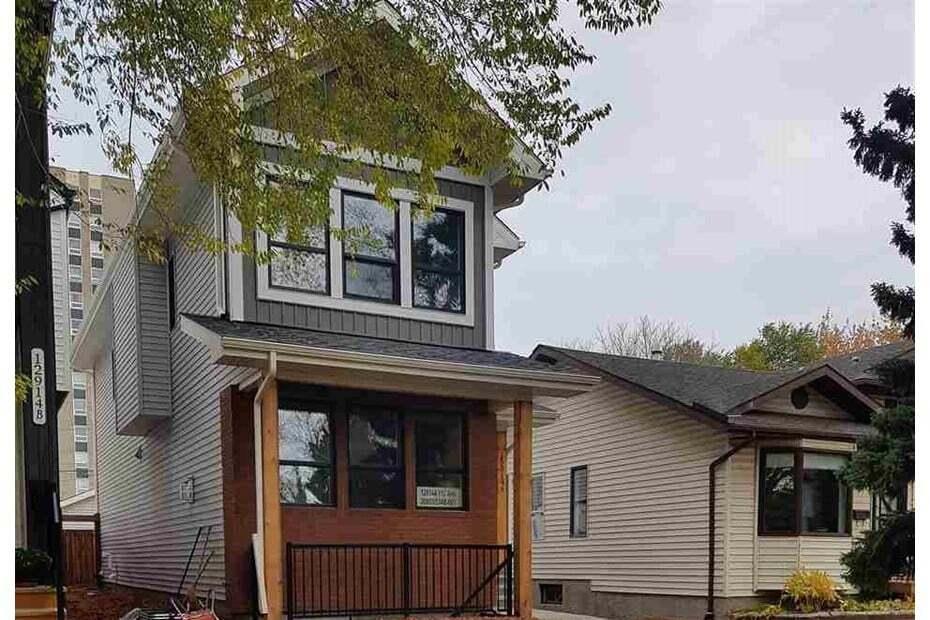 House for sale at 12914 112 Av NW Edmonton Alberta - MLS: E4208463