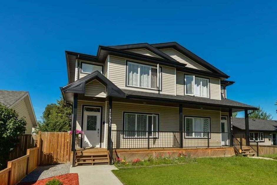 Townhouse for sale at 12932 85 St NW Edmonton Alberta - MLS: E4208955