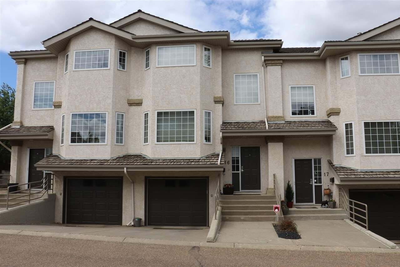 Townhouse for sale at 1295 Carter Crest Rd NW Edmonton Alberta - MLS: E4199610