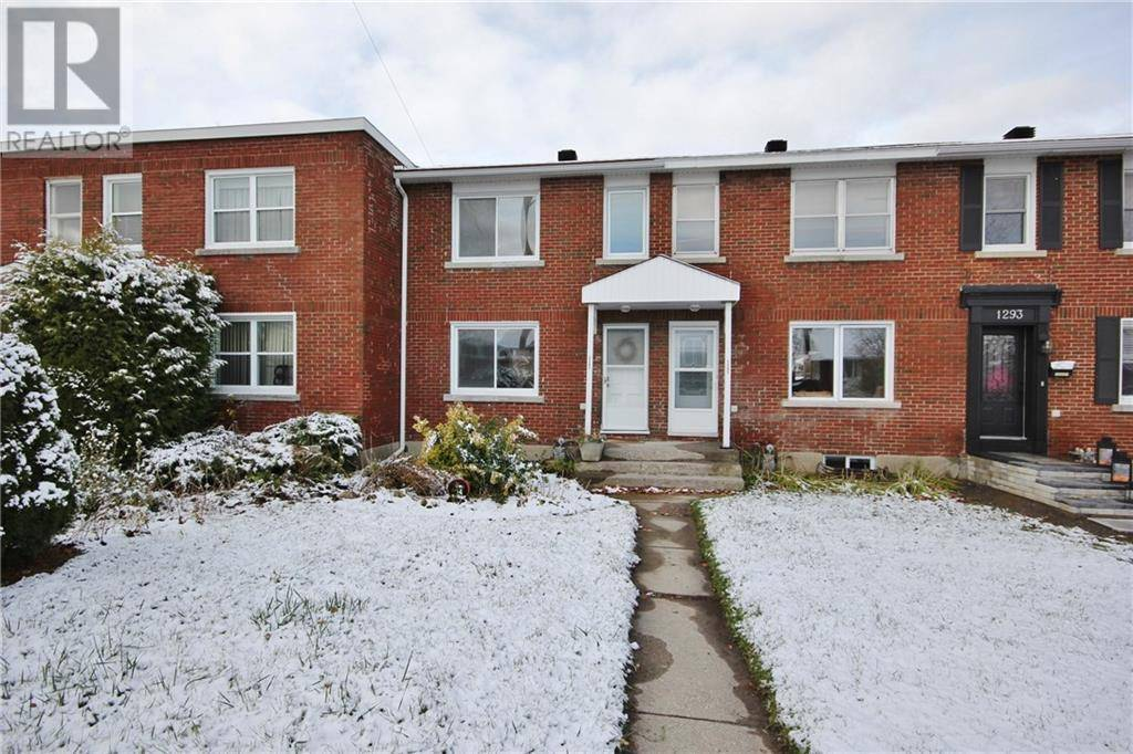 Townhouse for sale at 1297 Kingston Ave Ottawa Ontario - MLS: 1172500