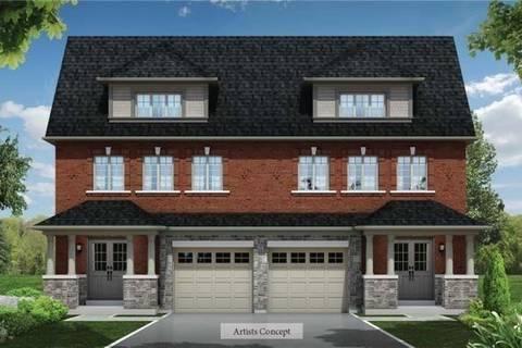 Townhouse for sale at 12 Fasken Ct Milton Ontario - MLS: W4502939