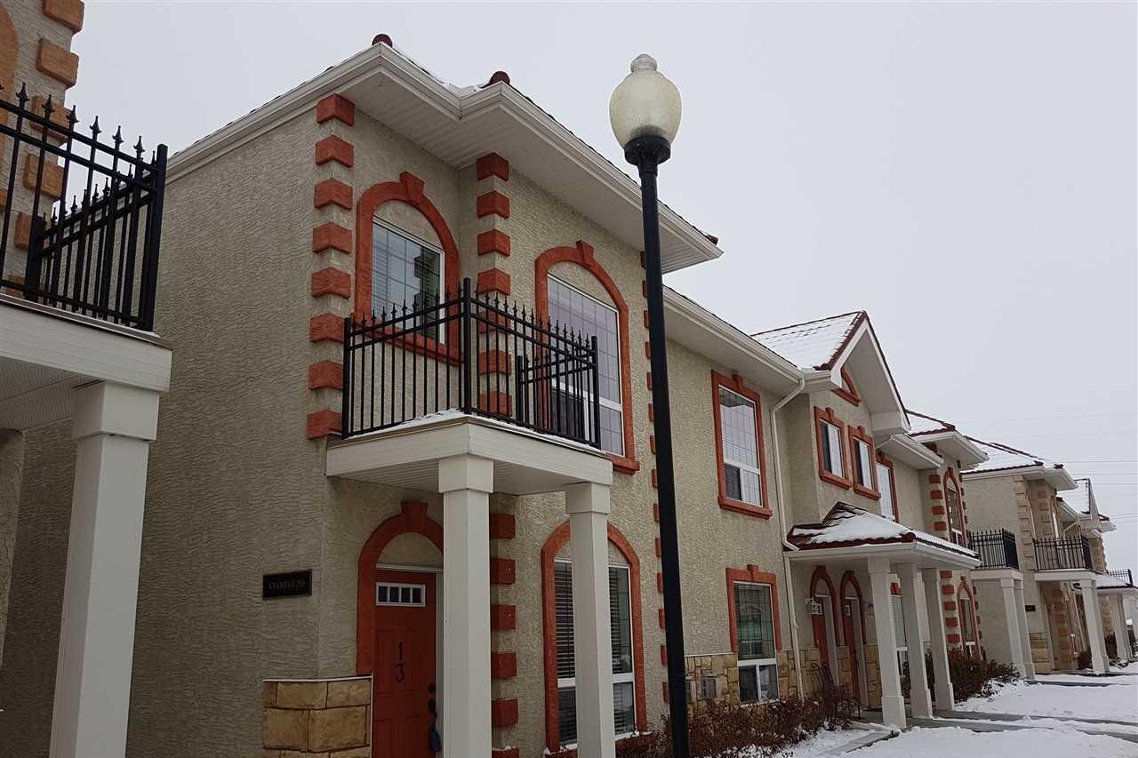 Townhouse for sale at 13825 155 Av NW Unit 13 Edmonton Alberta - MLS: E4219601