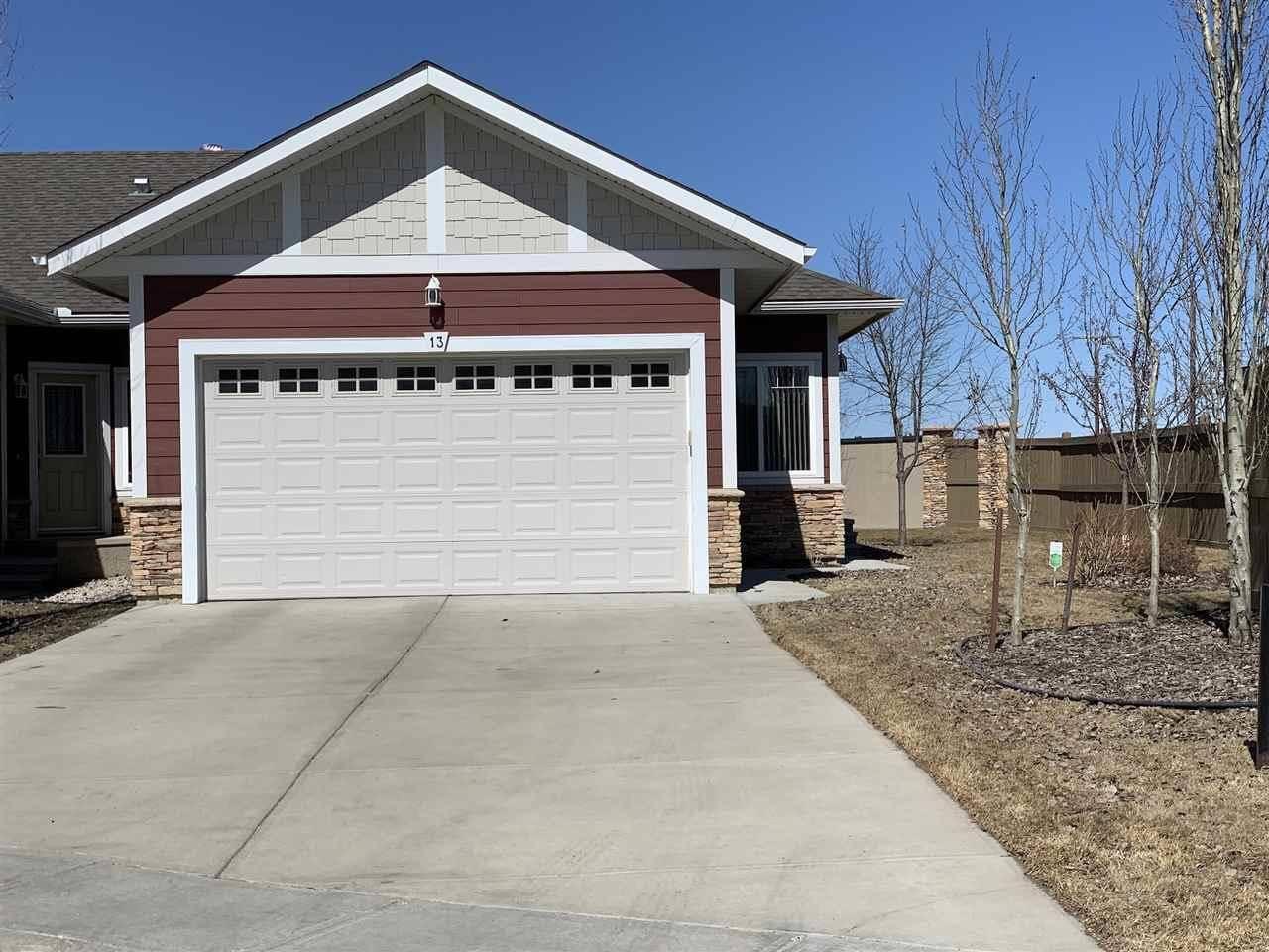 Townhouse for sale at 175 Mcconachie Dr Nw Unit 13 Edmonton Alberta - MLS: E4187876