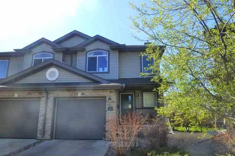 Townhouse for sale at 20 Norman Ct Unit 13 St. Albert Alberta - MLS: E4144751