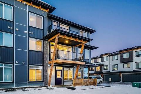 Townhouse for sale at 230 Seton Passage Southeast Unit 13 Calgary Alberta - MLS: C4292612
