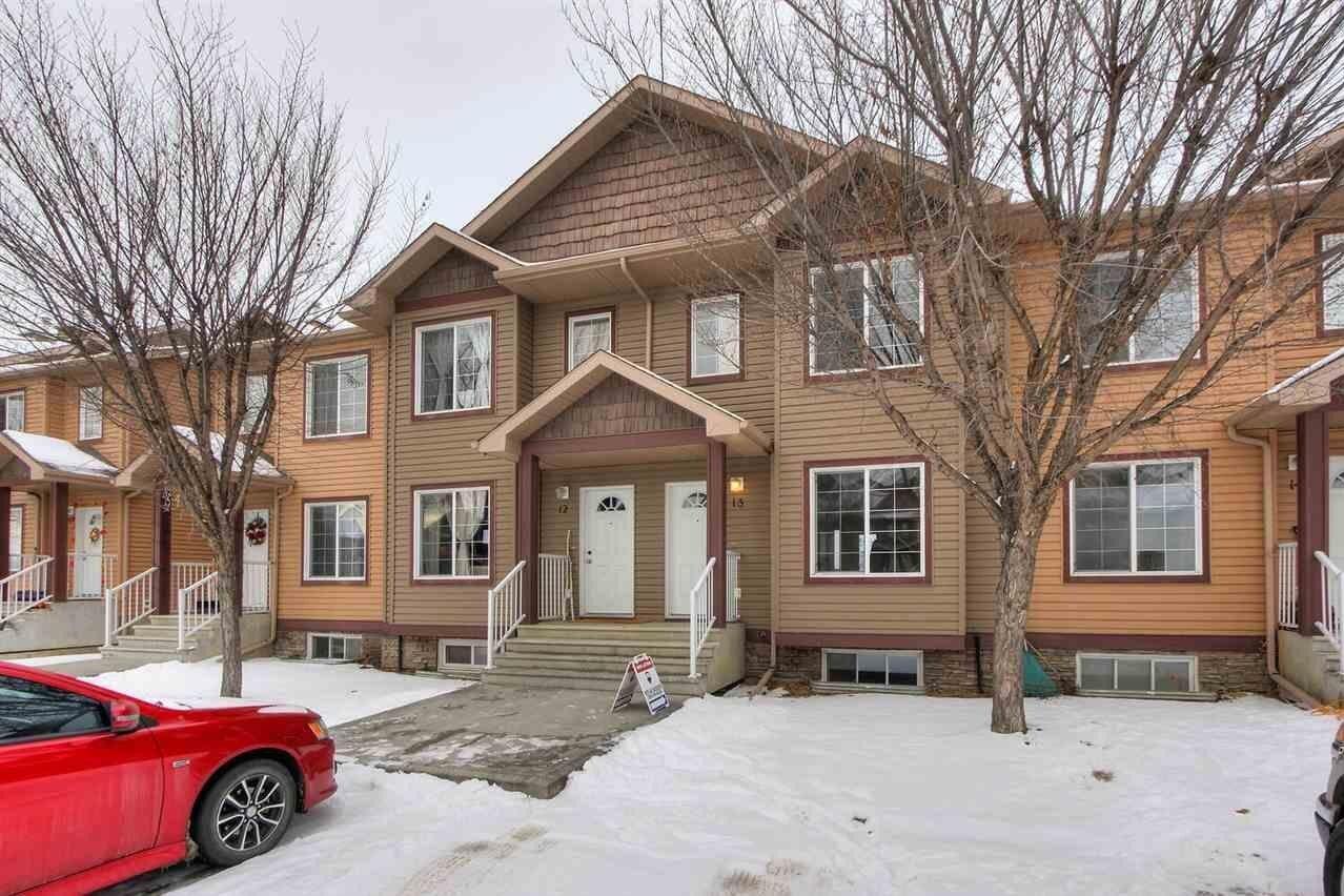 Townhouse for sale at 320 Spruce Ridge Rd Unit 13, Spruce Grove Alberta - MLS: E4221114