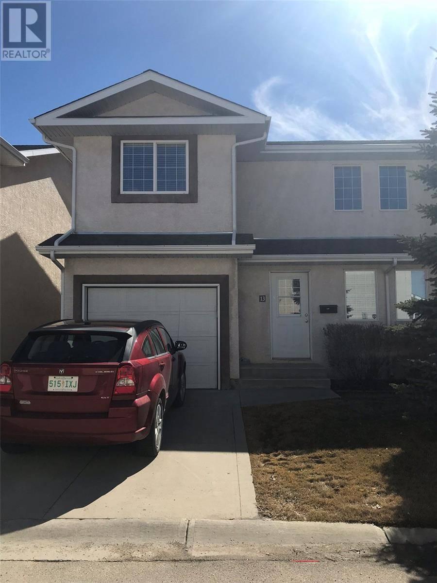 Townhouse for sale at 4425 Nicurity Dr Unit 13 Regina Saskatchewan - MLS: SK766448
