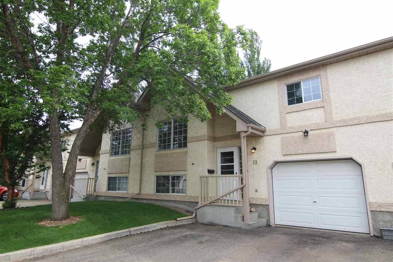 Townhouse for sale at 53 Erin Ridge Dr Unit 13 St. Albert Alberta - MLS: E4161682
