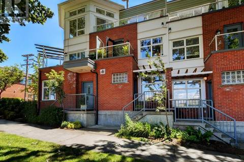 Townhouse for sale at 60 Dallas Rd Unit 13 Victoria British Columbia - MLS: 412700