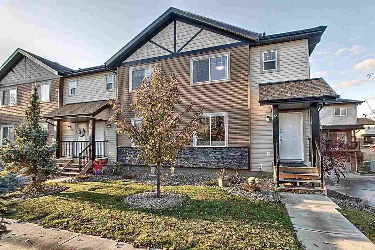 Townhouse for sale at 8716 179 Av NW Unit 13 Edmonton Alberta - MLS: E4191458