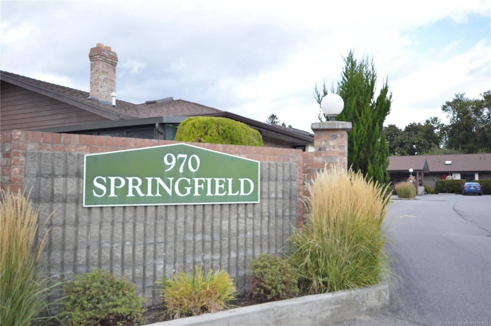 Townhouse for sale at 970 Springfield Rd Unit 13 Kelowna British Columbia - MLS: 10192623