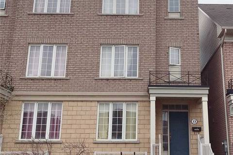Townhouse for sale at 13 Applebaum Terr Toronto Ontario - MLS: W4436737