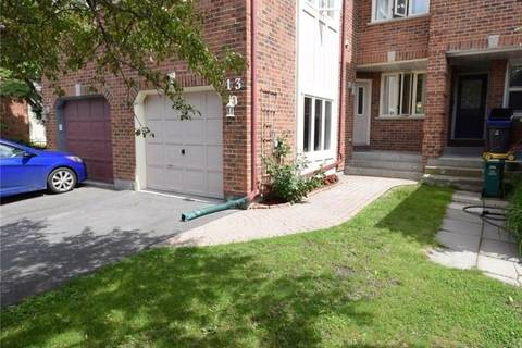 Townhouse for sale at 13 Ashpark Cres Ottawa Ontario - MLS: 1157835