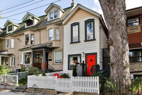 House for sale at 13 Bellwoods Ave Toronto Ontario - MLS: C4711061