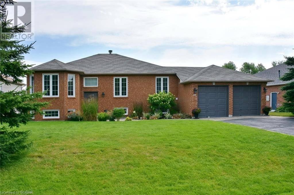 House for sale at 13 Britton Ct Wasaga Beach Ontario - MLS: 213051