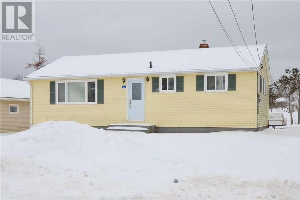 House for sale at 13 Bulmer Ln Sackville New Brunswick - MLS: M126921