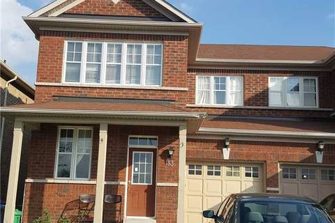 Townhouse for rent at 13 Connolly Cres Brampton Ontario - MLS: W4509168