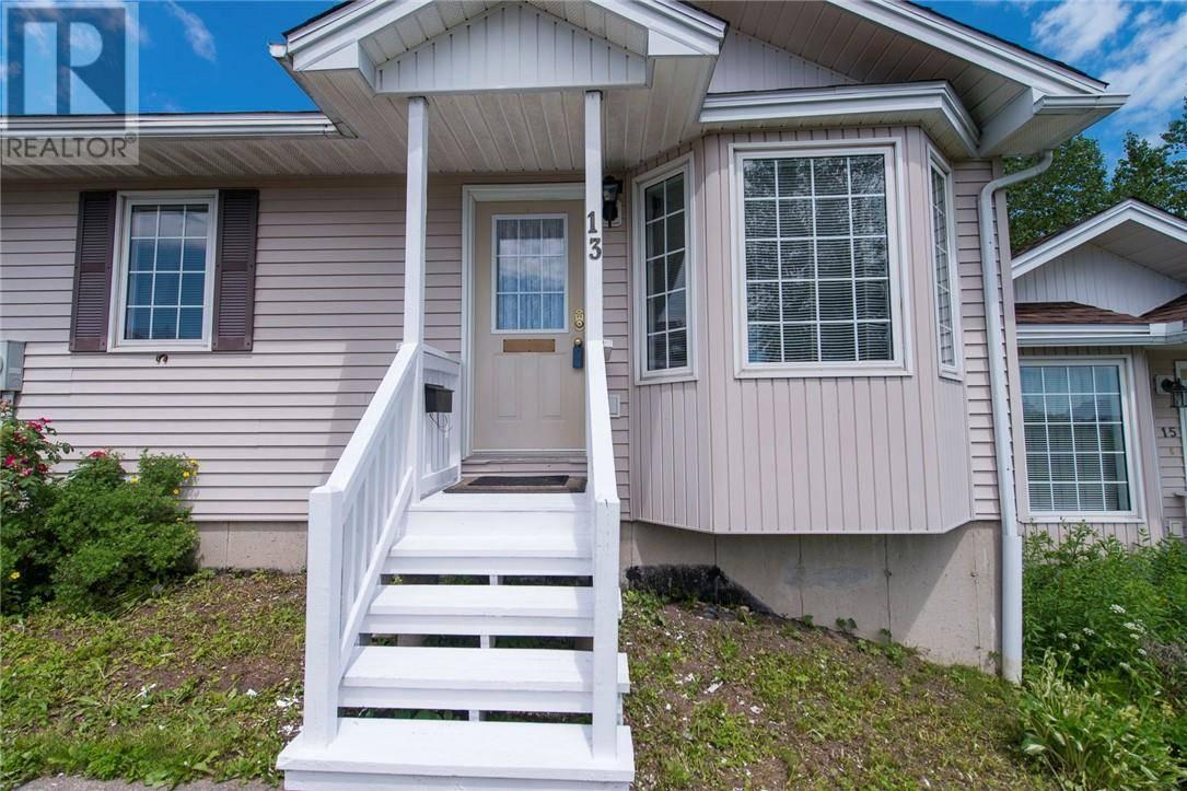 House for sale at 13 Derrick Ct Saint John New Brunswick - MLS: NB028644
