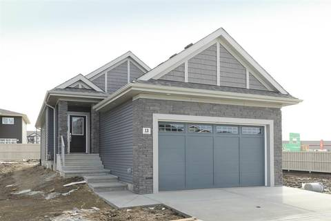 House for sale at 13 Edison Dr St. Albert Alberta - MLS: E4151405