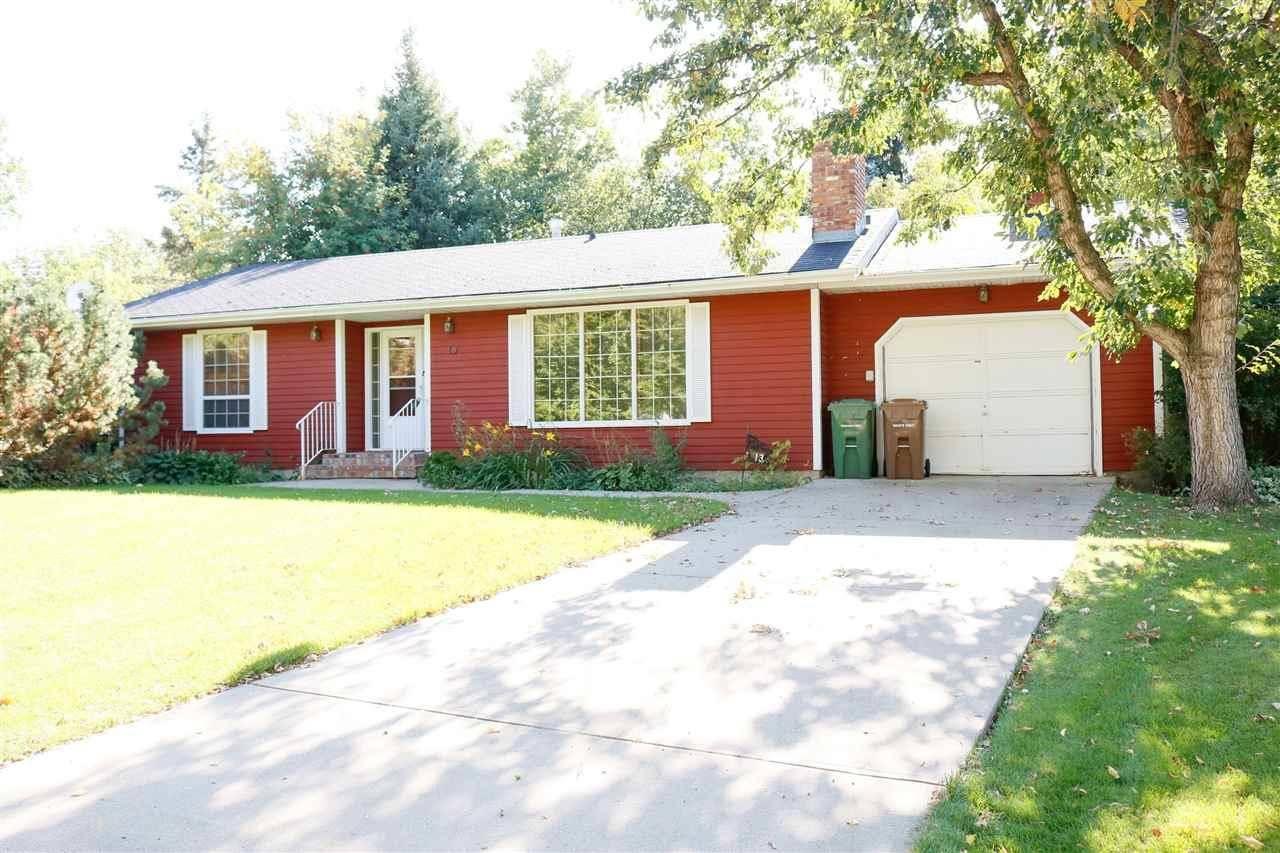 House for sale at 13 Garcia Pl St. Albert Alberta - MLS: E4172841