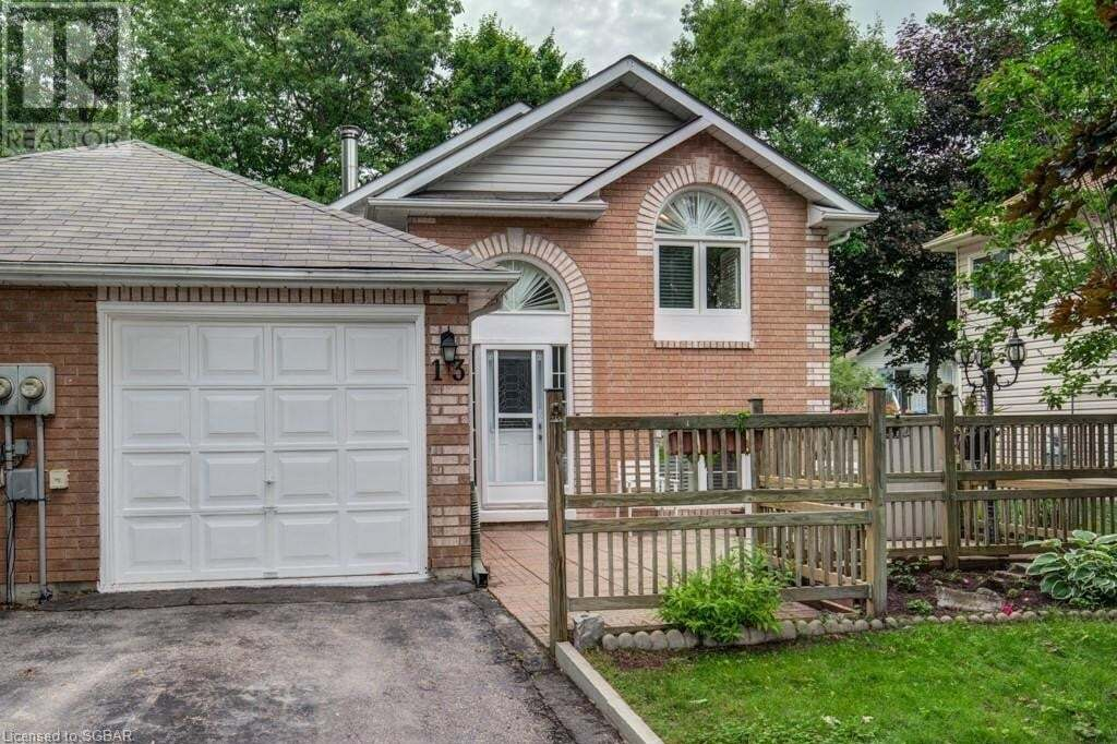 House for sale at 13 Goldsmith Pl Wasaga Beach Ontario - MLS: 267221
