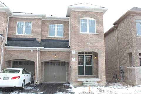 Townhouse for rent at 13 Goulston St Brampton Ontario - MLS: W4654778
