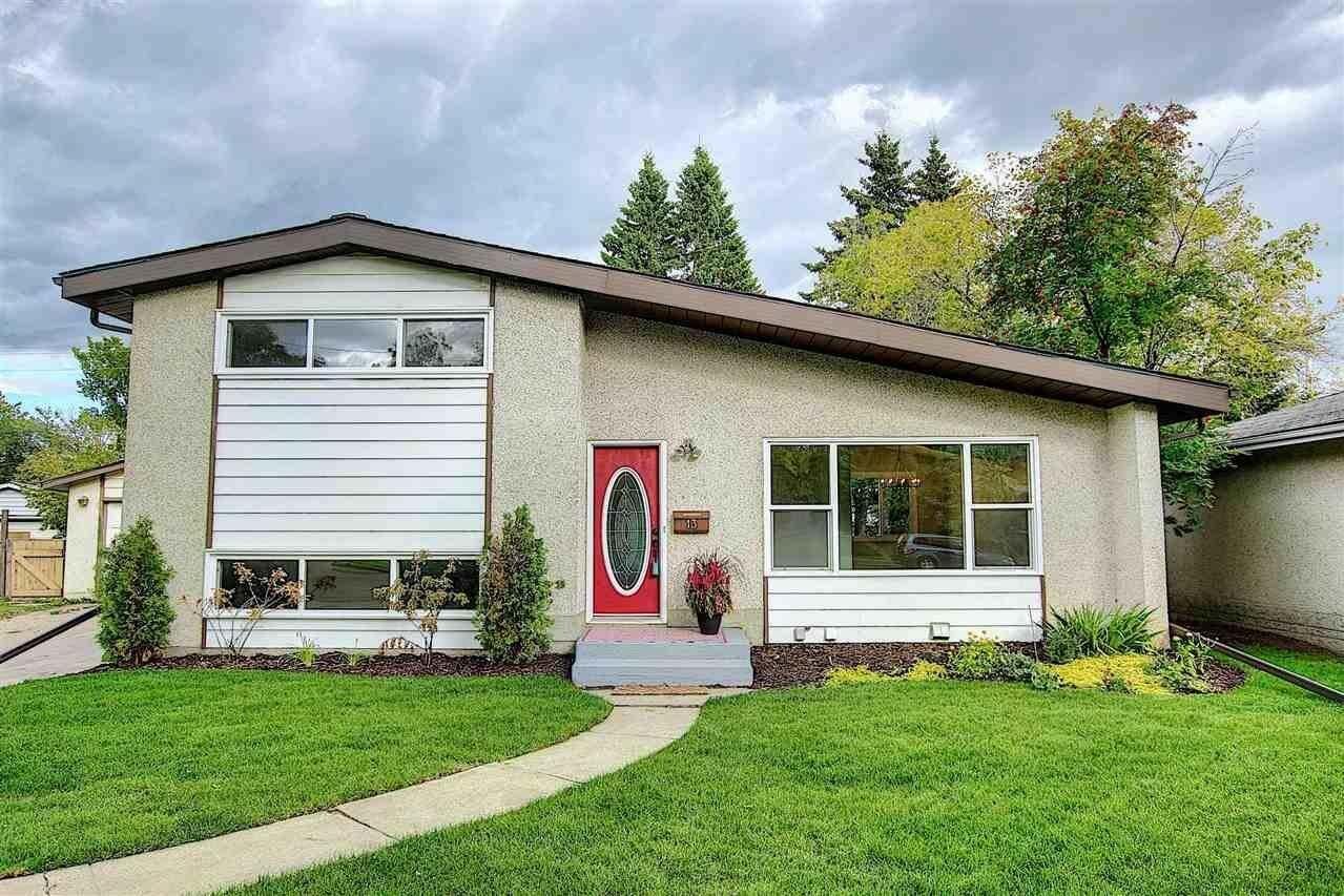House for sale at 13 Grandora Cr St. Albert Alberta - MLS: E4213742