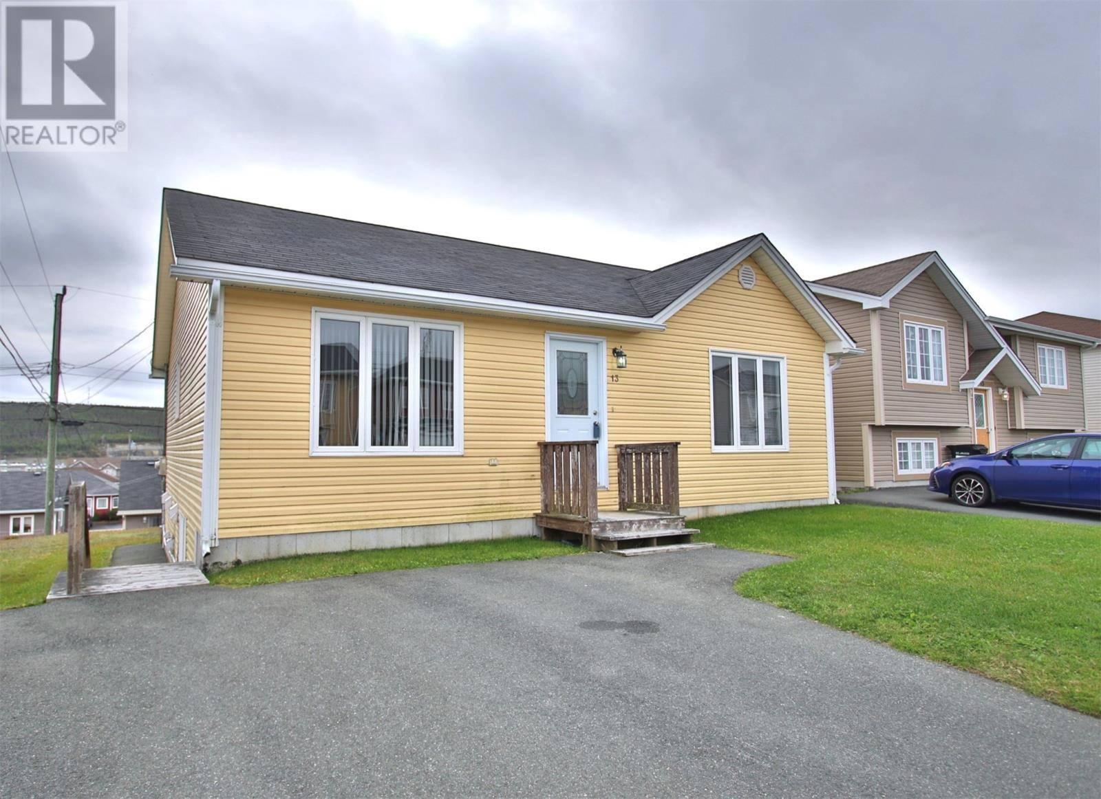House for sale at 13 Hopedale Cres St. John's Newfoundland - MLS: 1205061