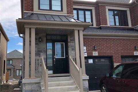 Townhouse for rent at 13 Hubbell Rd Brampton Ontario - MLS: W4618457