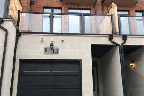 Townhouse for rent at 13 Hyderabad Ln Markham Ontario - MLS: N4646490