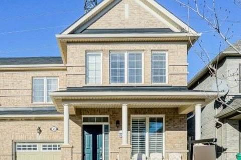 Townhouse for sale at 13 Kimborough Hllw Brampton Ontario - MLS: W4392401