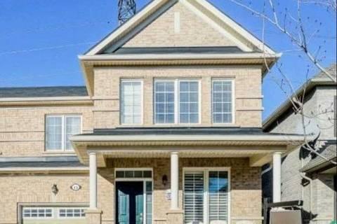 Townhouse for sale at 13 Kimborough Hllw Brampton Ontario - MLS: W4733487