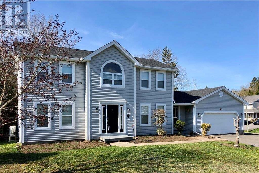 House for sale at 13 Lexington Dr Quispamsis New Brunswick - MLS: NB040740