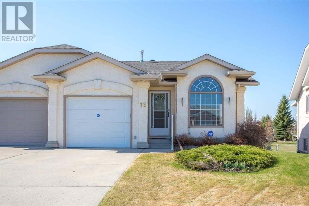 Townhouse for sale at 13 Liberty Cs Lacombe Alberta - MLS: ca0191425