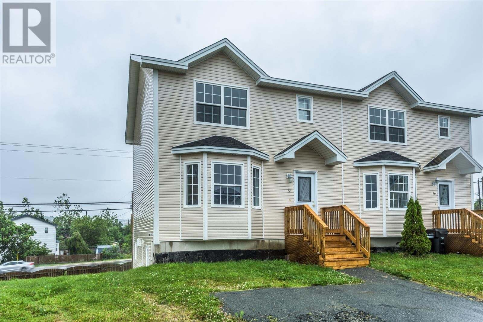 House for sale at 13 Meeker Pl St Johns Newfoundland - MLS: 1218212